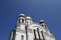 Église orthodoxe moderne à Moscou, Russie Images stock