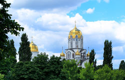 Église orthodoxe moderne Image libre de droits