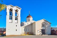 Église orthodoxe neuve de Valamo Photographie stock libre de droits
