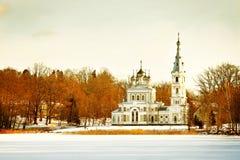 Église orthodoxe russe photos libres de droits