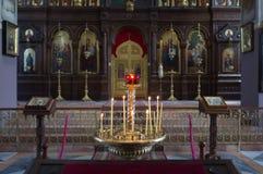 Église orthodoxe russe, Jérusalem Photos stock