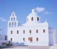 Église orthodoxe sur la Grèce image libre de droits