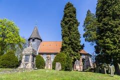 Église Ostenholz Images libres de droits