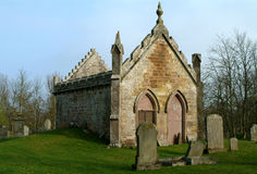 Église oubliée - Montrose, Ecosse Photos stock