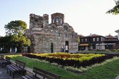 Église Pantocrator Christos dans Nessebar, Bulgarie photographie stock libre de droits