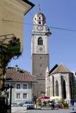 Église paroissiale de Merano Images stock