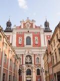 Église paroissiale de St Stanislaus. Image stock