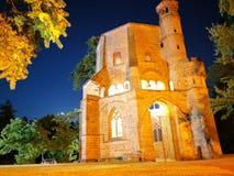 Église perdue d'endroit gothique photos libres de droits