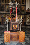 Église pittoresque dans Monténégro Images libres de droits