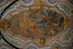 Église portugaise - histoire et art du Portugal image stock