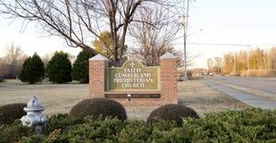 Église presbytérienne de Cumberland de foi, Memphis, TN images libres de droits