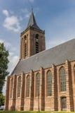 Église principale au centre historique de Monniclendam Photos libres de droits
