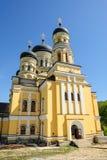 Église principale du monastère de Hancu, République Image libre de droits