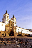 église Quito image stock