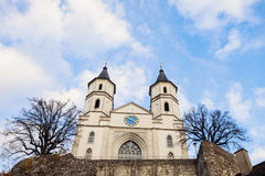 Église reformée dans Aarburg Photos stock