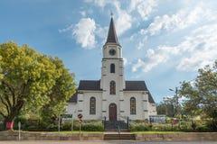 Église reformée par Néerlandais dans Dewetsdorp dans l'état gratuit Image stock