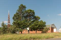 Église reformée par Néerlandais en Afrique dans QwaQwa Photo libre de droits