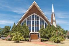Église reformée par Néerlandais Iceberg-en-dal photographie stock libre de droits