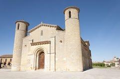 Église romane Photo stock