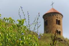 Église romane de St Giles dans Inowlodz Images stock