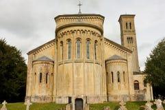 Église romane, WILTSHIRE, Angleterre photos libres de droits