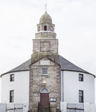 Église ronde Photos libres de droits