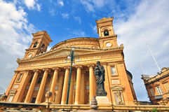 Église rotunda à Malte photo libre de droits