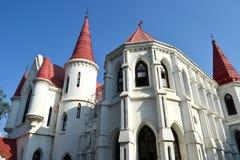 Église rouge antique Indore Images stock