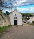 Église rurale. Martina Franca. Apulia. Photographie stock libre de droits