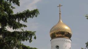 Église russe 001 banque de vidéos