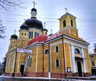 Église russe dans Chernivtsi, Ukraine Photographie stock libre de droits