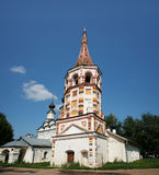 église russe dans Suzdal. Image libre de droits
