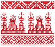 Église russe de broderie Photo stock