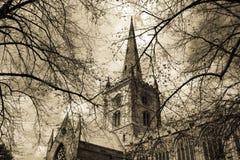 église s shakespeare photographie stock libre de droits
