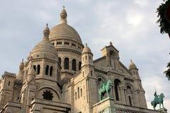 Église Sacre Coeur à Paris Image libre de droits