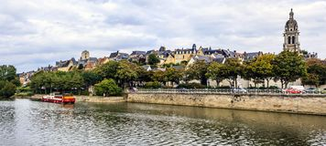Le Mans, Sarthe, Pays de la Loire, France. Royalty Free Stock Photography
