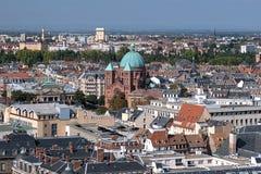 église Saint-Pierre-le-Jeune catholique dans Strasburg, France Image libre de droits