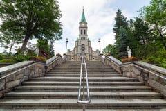 Église sainte de famille dans Zakopane Photos stock
