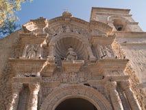 Église San Juan Bautista dans Yanahuara photographie stock