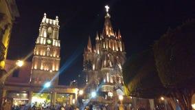 Église Santa Fe Mexique de mission images stock