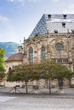 Église Santa Maria Assunta - acceptation de notre Madame, Bolzano, Italie, _ photos libres de droits