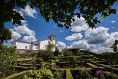 Église Santa Maria dans le marvao, Portugal image stock
