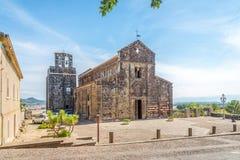 Église Santa Maria del Regno dans Ardara Image stock