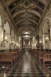 Église, Santiago, piment Images libres de droits