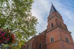 Église Schweich chez la Moselle Allemagne l'Europe photographie stock libre de droits