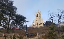 Église Shimla, Himachal Pradesh du Christ Photo stock