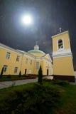 Église sous les étoiles Photo stock
