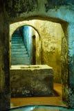 Église souterraine antique Photographie stock