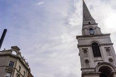 Église Spitalfields du Christ Photo libre de droits