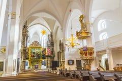 Église St Peter et Paul Weimar, Thuringe Image libre de droits
